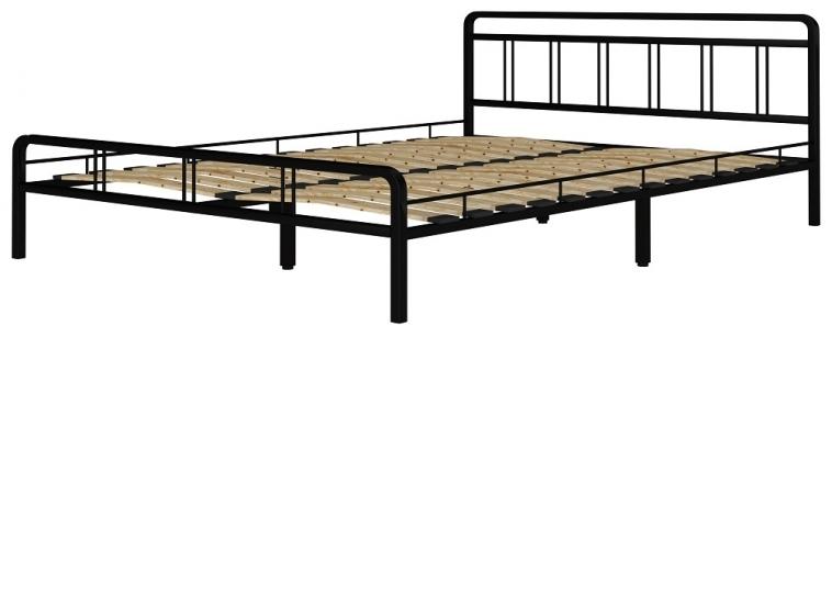 Кровать Леон черный-черный ГЗМИ