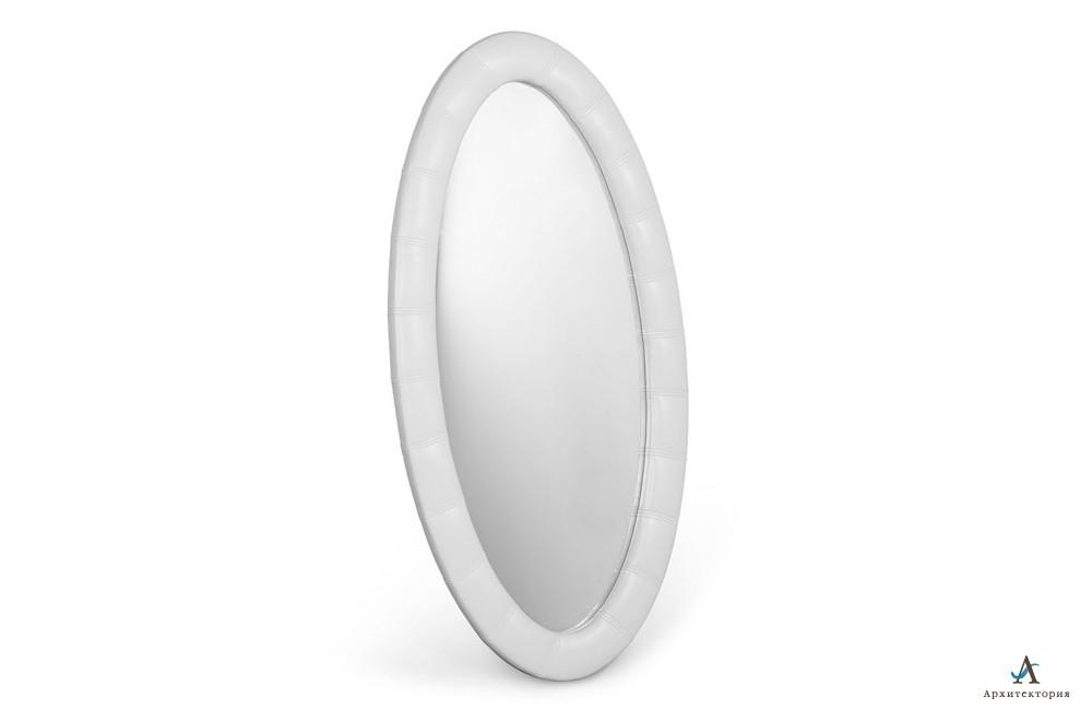 Зеркало Люнетта овальное мозаика Архитектория